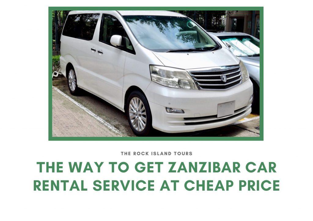 Zanzibar Car Rental Service